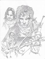 Lord of the Rings by StevenWilcox