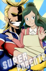 BNHA: Super Parents by ototobo
