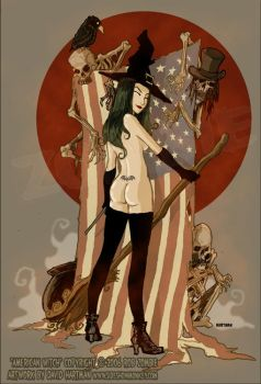 AMERICAN WITCH 1 by Hartman by sideshowmonkey