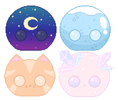 Cheap Adoptable Blobs - Closed by Stardust-Specks