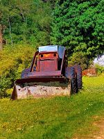 Old abandoned snow removing vehicle by patrickjobst