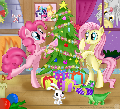 Christmas Tree by SwanLullaby