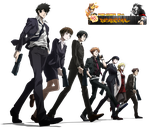 Psycho Pass Render by LordRender