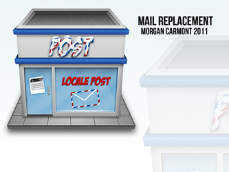 Mail Replacement Icon by morgcar
