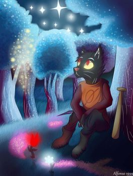 Night in the Woods by RainbowChromatic