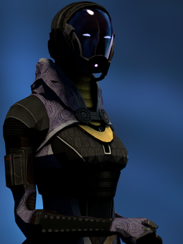 Blender Tali by Spartanburger