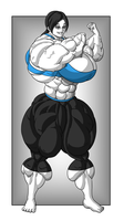 Patreon Commission 66 - Wii Fit Trainer by FudgeX02