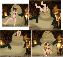 Jabba's Slave Snack by SoleSwallower