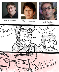 Choose Gabe, Todd, or Jeff by DeadKnight1