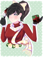 Yandere-Chan's Christmas | Yandere Simulator + SP by Scarmmetry