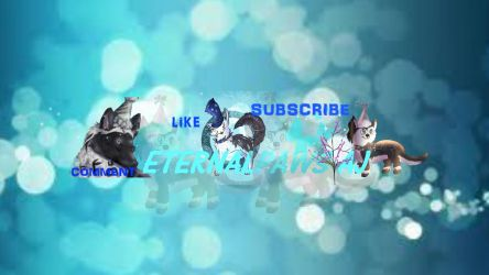 Eternalpaws Channel Art Read Desc Please By Fireflykoala On