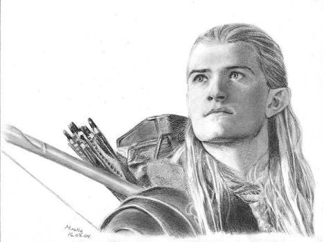 Legolas - LOTR by Mirally