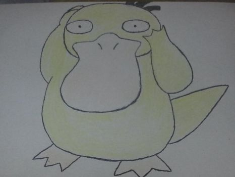 Psyduck! by Shadarot