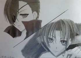 Ciel and Teito - Look at me by YukiGaFutte