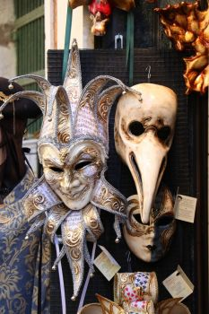 Venice mask by Sockrattes