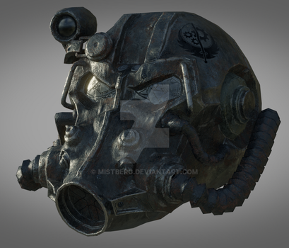 T-60 Power Armor WIP by Mistberg