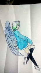 Keala Gel pen and colored pencil by BriarHK