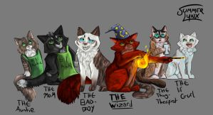 The Squad by Summer-Lynx