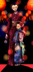 Red lanterns by thewomaninred