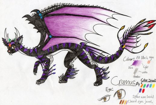 Crumus - HR is after the dragon (Crossover AU) by farahin001