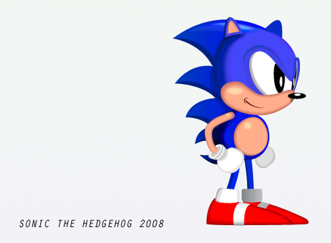 Sonic the Hedgehog 2008 by Vinicius-Sasso