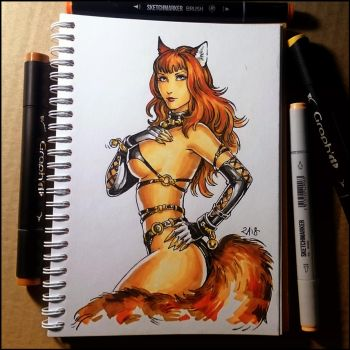 Sketchbook - Chon Kai by Candra