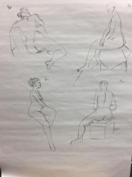 Figure Drawing by Saza-Productions