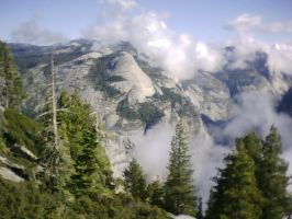 Amazing North Dome by Yosemite-Stories