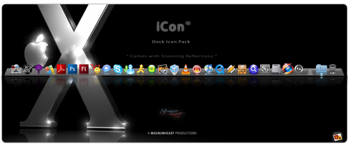 Mac Dock Icons : The iCon by MAGNUMHEARTED