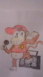 Diddy Kong by superdes513