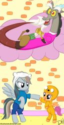 Adventure Time with Dash and Scoot by DitzyHooves