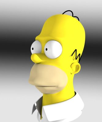 Homer 3D by Fallenswordsman