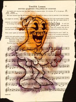 smile ghost music sheet by ButchAdams