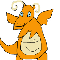 Dragonite by luckybirdy4