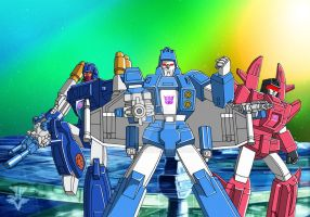Decepticon Targetmasters by JP-V