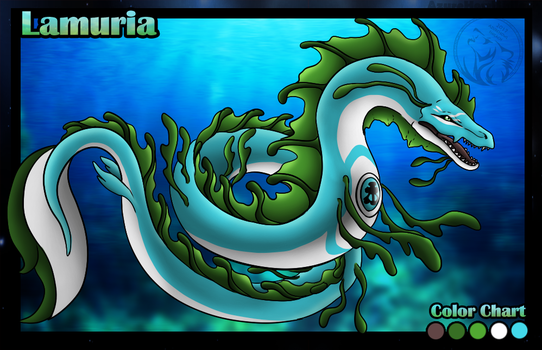 Lamuria Water Dragon Profile by AzureHowlShilach