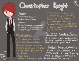 Things to know about Christopher... by LanaFlynn