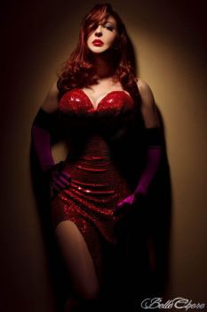 Jessica Rabbit: The Spotlight by BelleChere