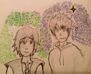 Jack and Hiccup by FMA-Al-Lover