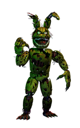 NIGHTMARE SPRINGTRAP V2 by GaboCOart