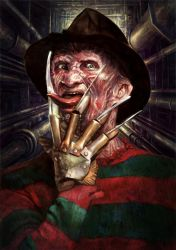 Freddy Krueger by Kid-Eternity