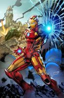 IronMan 11x17 colors 300b by TeoGonzalezColors