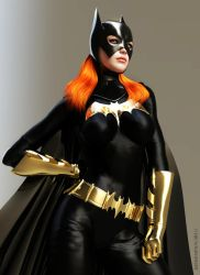 Batgirl : Barbara Gordon by KRTArt