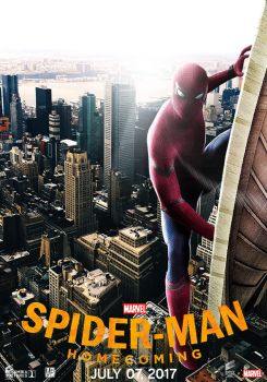 Spider-Man: Homecoming - Second Poster by ArtBasement