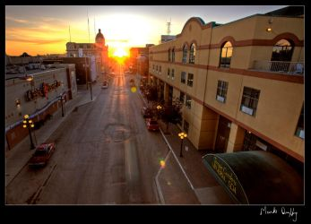 Downtown Moose Jaw by pictureguy