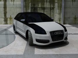 audi ABT A3 by Sphinx1