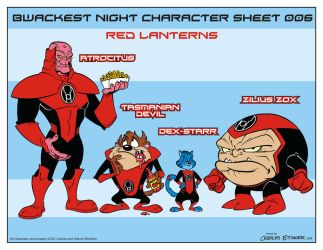 Looney Lanterns the web comic line up 006 by CharlesEttinger