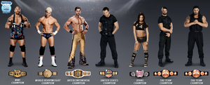 WWE Champions by sebaz316