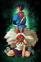 Mononoke attack by rebenke