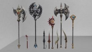 MMD Download: Tera Weapons Pack 1 by Drysmath